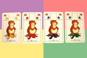 Kombination Hamster und Farben