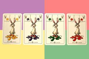 Kombination Hase und Farben